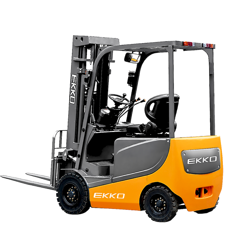 "EKKO EK20RL 4 Wheel Electric Forklift, 4500lbs. Cap., 189"" Lift Ht. 48V"